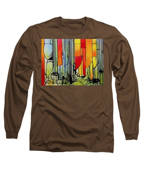 Anger Serves No Purpose Long Sleeve T-Shirt by Jason Williamson