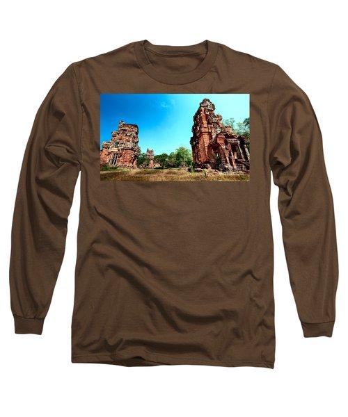 Angkor Wat Ruins Long Sleeve T-Shirt