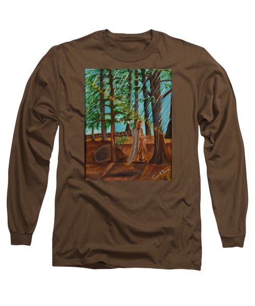 Angle In Idyllwild Long Sleeve T-Shirt by Cassie Sears