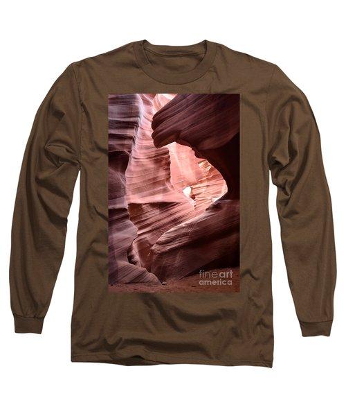 Antelope Canyon Page Az Long Sleeve T-Shirt by DejaVu Designs