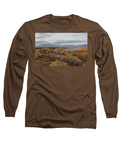 Long Sleeve T-Shirt featuring the photograph Antelope Island - Scenic View by Ely Arsha
