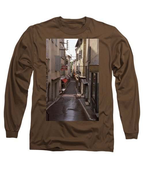 Long Sleeve T-Shirt featuring the photograph Antibes 76 by Mark Alan Perry