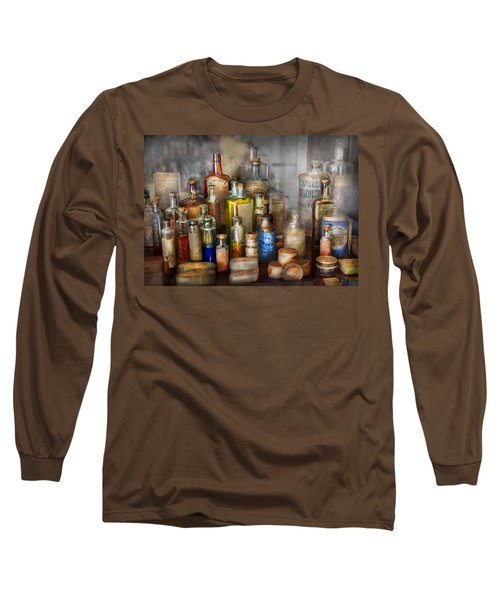 Apothecary - For All Your Aches And Pains  Long Sleeve T-Shirt