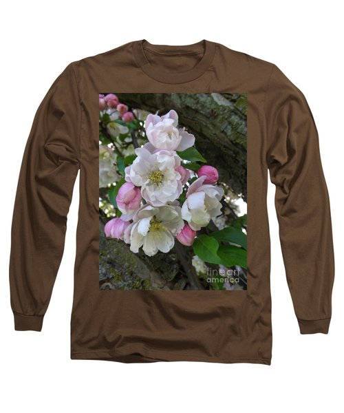 Apple Blossom Bouquet Long Sleeve T-Shirt