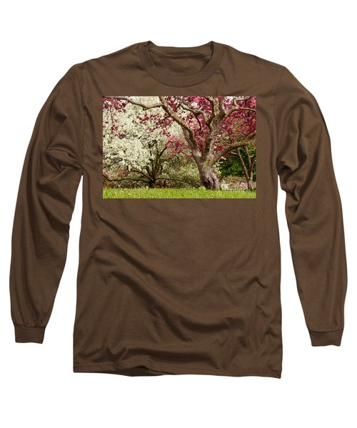 Apple Blossom Colors Long Sleeve T-Shirt