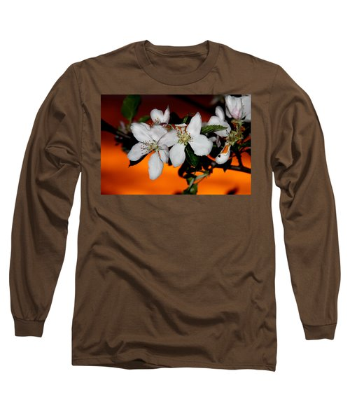 Apple Blossom Sunrise I Long Sleeve T-Shirt