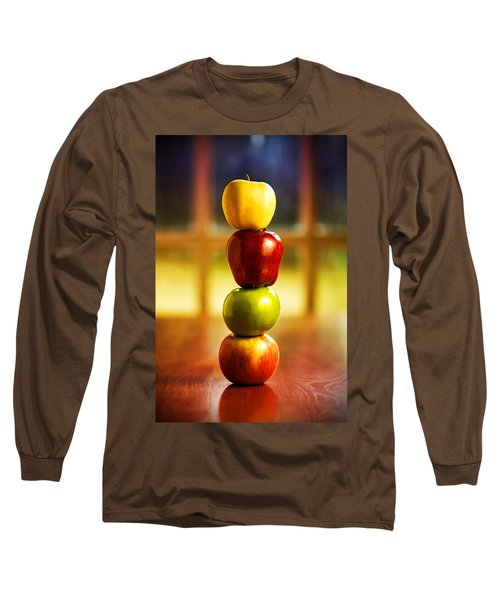 Apple Stack Long Sleeve T-Shirt