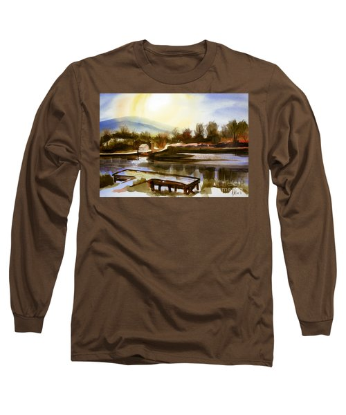 Approaching Dusk IIb Long Sleeve T-Shirt by Kip DeVore