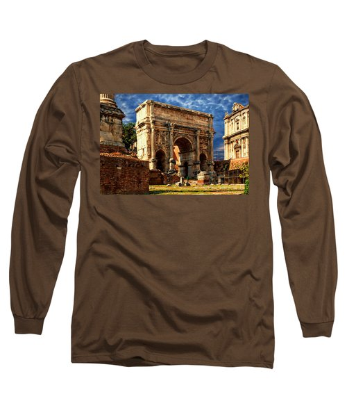 Arch Of Septimius Severus Long Sleeve T-Shirt