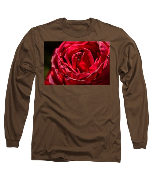 Arizona Rose I Long Sleeve T-Shirt by Michael McGowan
