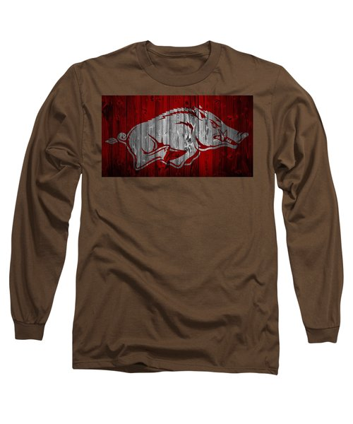 Arkansas Razorbacks Barn Door Long Sleeve T-Shirt