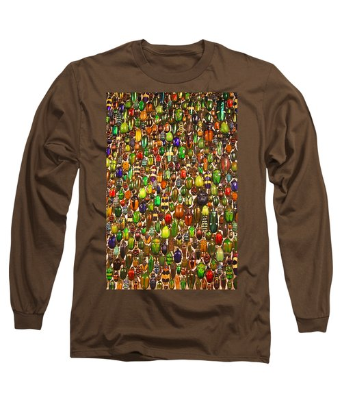 Long Sleeve T-Shirt featuring the photograph Army Of Beetles And Bugs by Brooke T Ryan