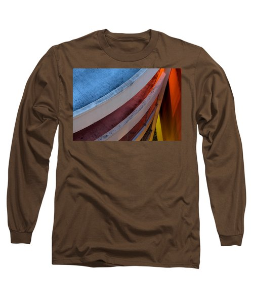 Around And Down Long Sleeve T-Shirt by Greg Allore