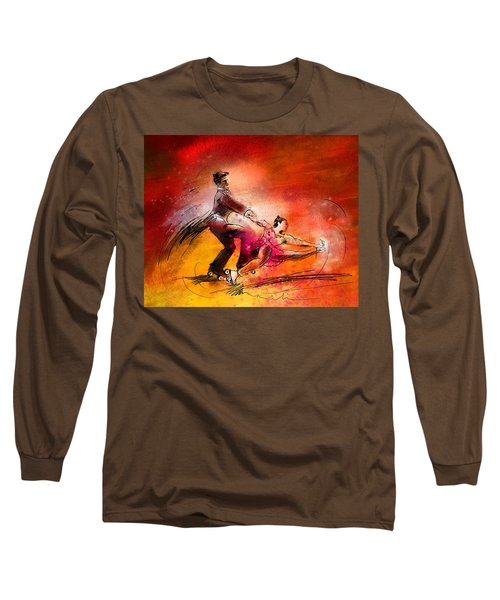 Artistic Roller Skating 02 Long Sleeve T-Shirt