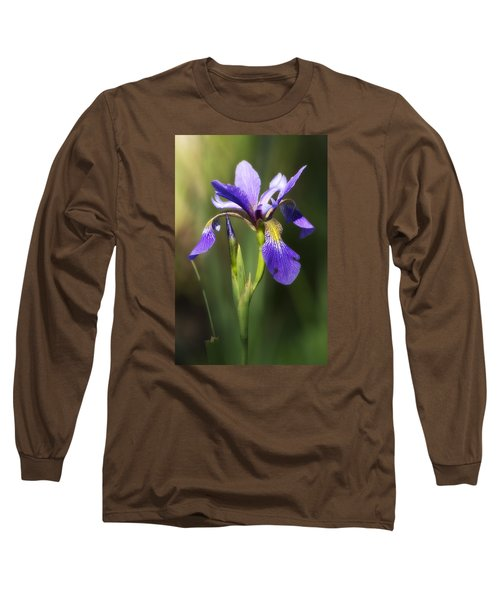 Artsy Iris Long Sleeve T-Shirt