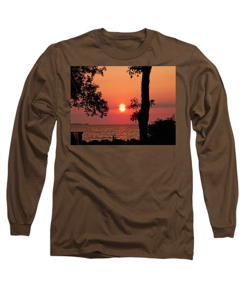 Long Sleeve T-Shirt featuring the photograph Association Island Sunset by Aimee L Maher Photography and Art Visit ALMGallerydotcom