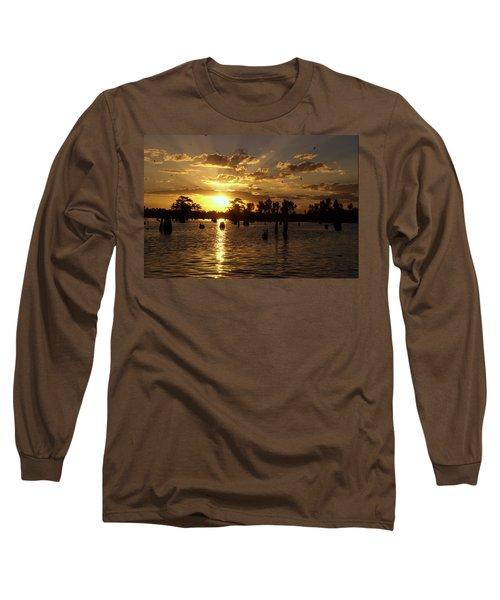 Atchafalaya Sunrise Long Sleeve T-Shirt