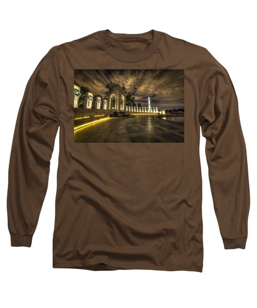 Atlantic Side Of The World War II Memorial Long Sleeve T-Shirt