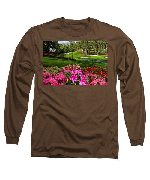 Augusta Azaleas 16th And 6th Long Sleeve T-Shirt by Tim Gilliland