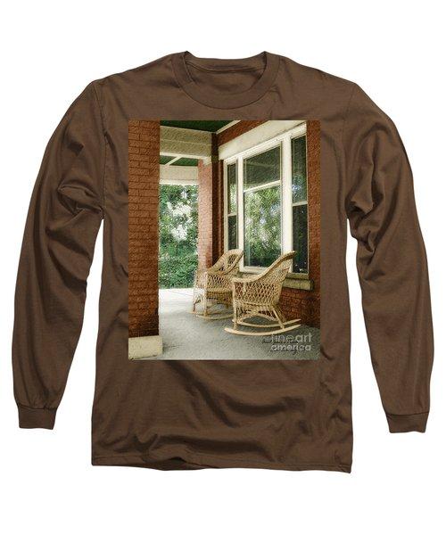 Aunt Jane's Porch Long Sleeve T-Shirt