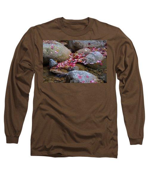 Autmun Leaves Long Sleeve T-Shirt
