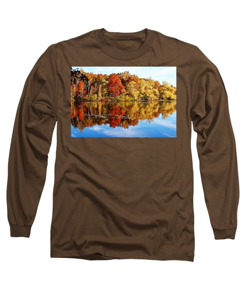 Autumn At Horn Pond Long Sleeve T-Shirt