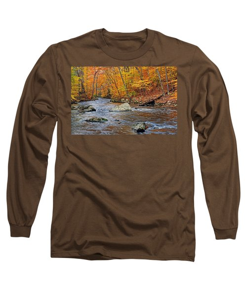Autumn At The Black River Long Sleeve T-Shirt