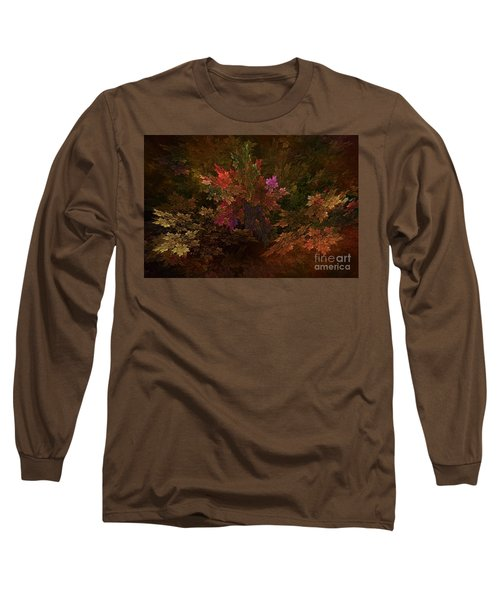 Long Sleeve T-Shirt featuring the digital art Autumn Bouquet by Olga Hamilton