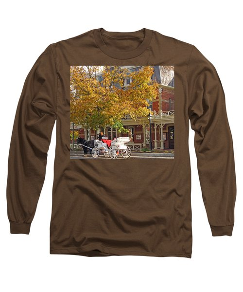 Autumn Carriage For Hire Long Sleeve T-Shirt