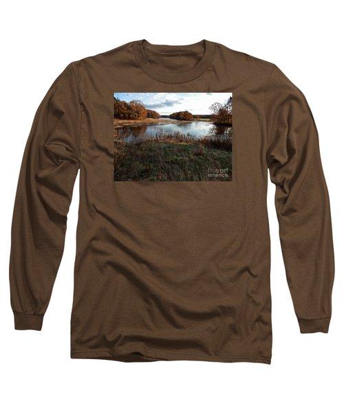 Autumn Colors Long Sleeve T-Shirt by Marcia Lee Jones