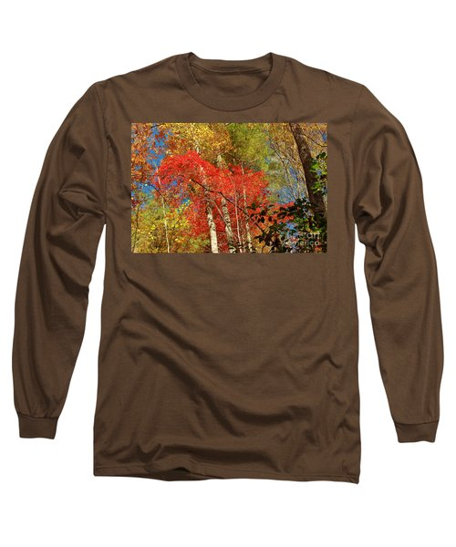 Autumn Colors Long Sleeve T-Shirt by Patrick Shupert