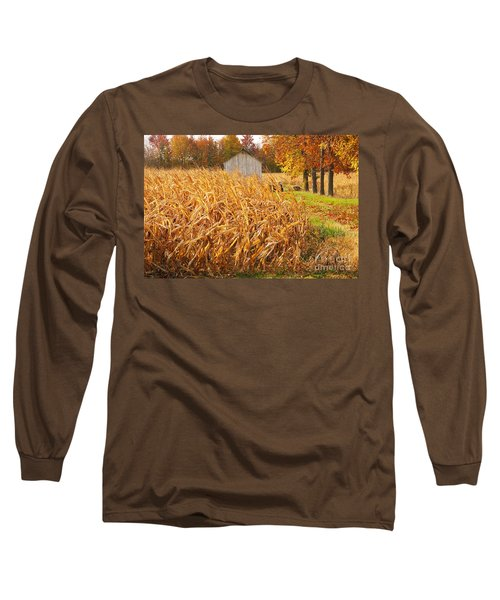 Autumn Corn Long Sleeve T-Shirt
