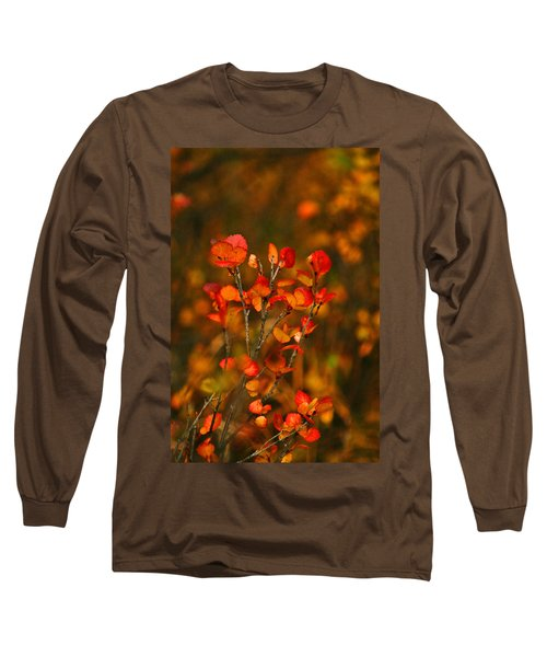 Long Sleeve T-Shirt featuring the photograph Autumn Emblem by Jeremy Rhoades