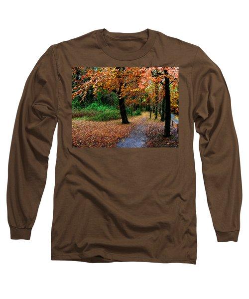 Autumn Entrance To Muckross House Killarney Long Sleeve T-Shirt