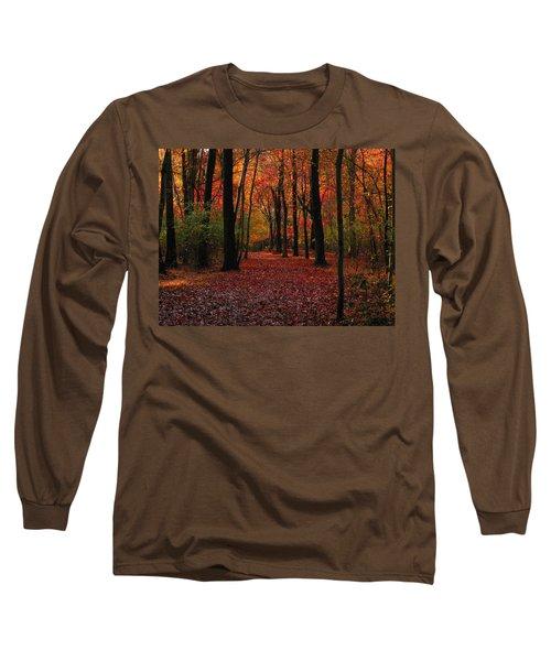 Autumn IIi Long Sleeve T-Shirt by Raymond Salani III