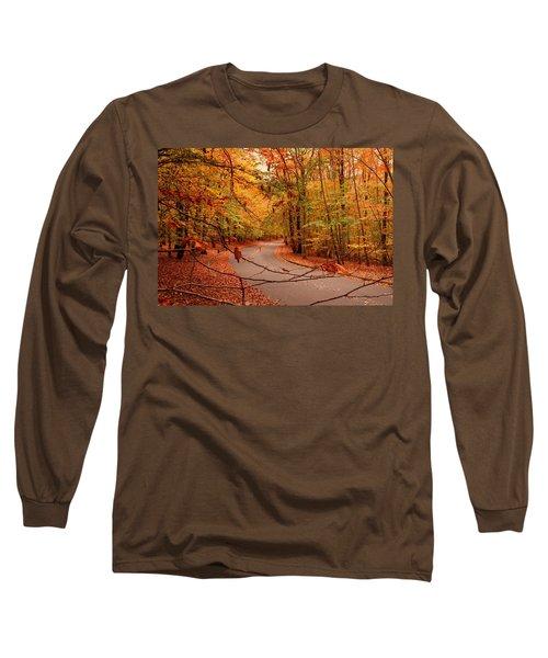 Autumn In Holmdel Park Long Sleeve T-Shirt