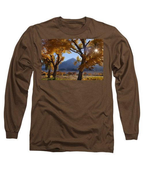 Long Sleeve T-Shirt featuring the photograph Autumn In The Mountains by Andrew Soundarajan