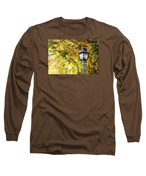 Autumn Lamp Post Long Sleeve T-Shirt