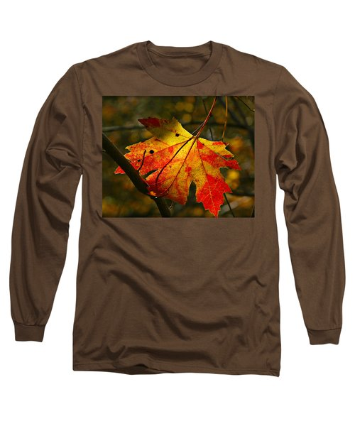 Autumn Maple Leaf Long Sleeve T-Shirt