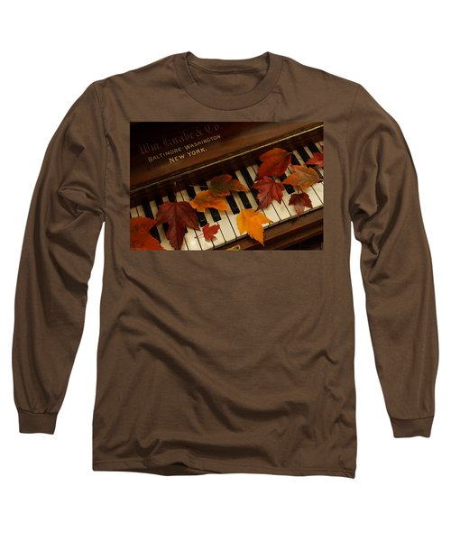 Autumn Piano 14 Long Sleeve T-Shirt