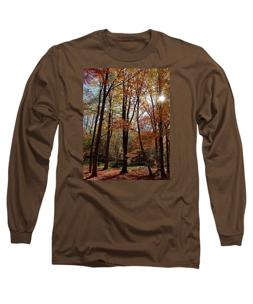 Long Sleeve T-Shirt featuring the photograph Autumn Picnic by Debbie Oppermann
