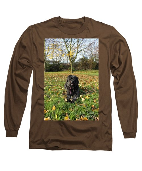 Autumn Portrait Long Sleeve T-Shirt by Vicki Spindler