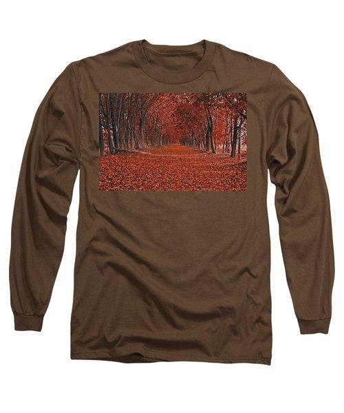 Autumn Long Sleeve T-Shirt by Raymond Salani III