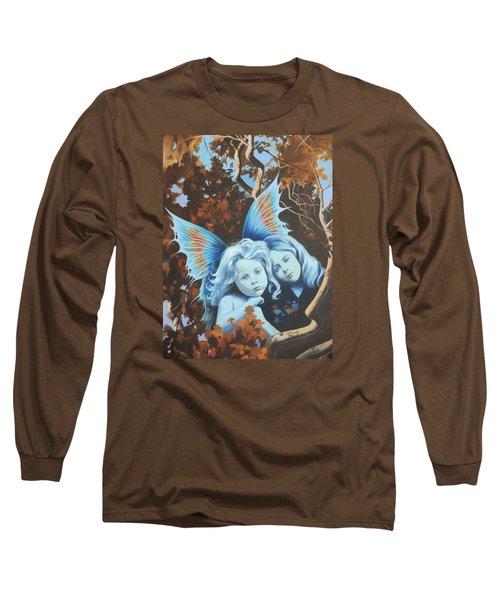 Autumn Turning. Long Sleeve T-Shirt by Vivien Rhyan