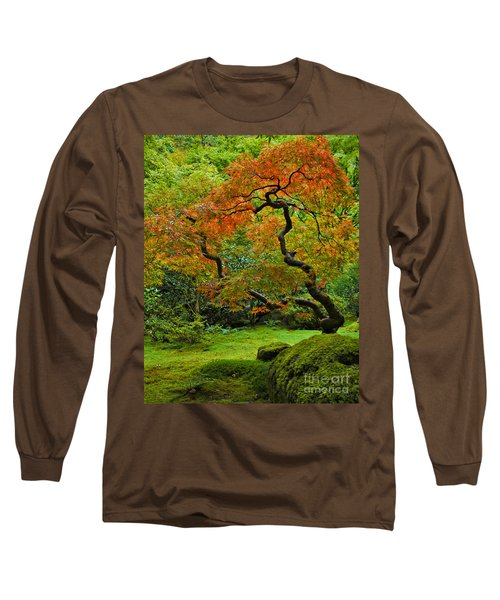 Autumn's Paintbrush Long Sleeve T-Shirt