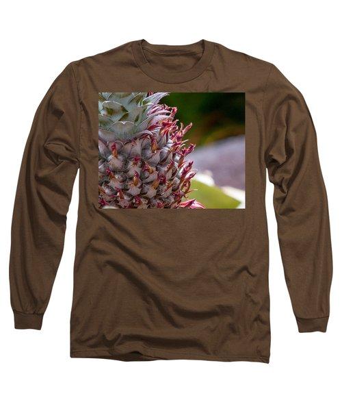 Baby White Pineapple Long Sleeve T-Shirt