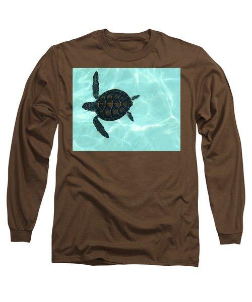 Baby Sea Turtle Long Sleeve T-Shirt
