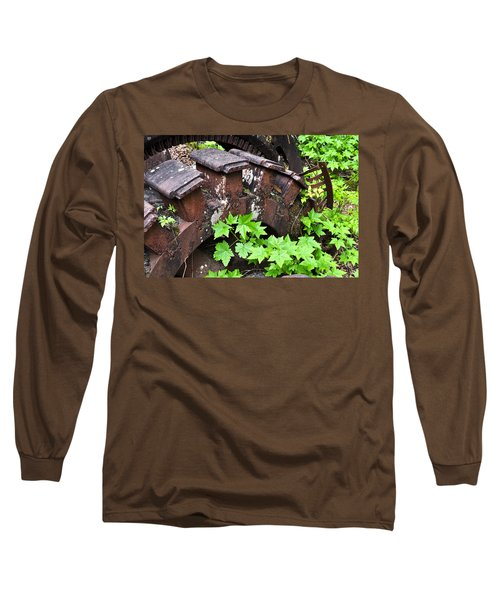 Long Sleeve T-Shirt featuring the photograph Back To The Forest by Cathy Mahnke
