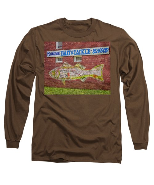 Bait Tackle Seafood Shop Detail Long Sleeve T-Shirt