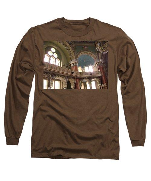 Balcony Of Sofia Synagogue Long Sleeve T-Shirt